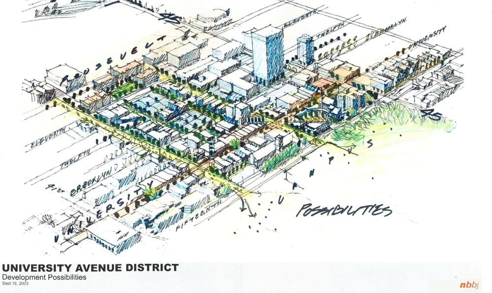 UW Corridor site plan